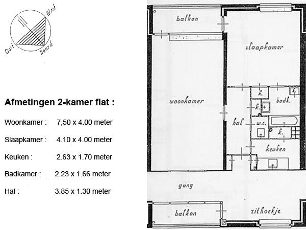 A – twee kamers | De Oldenborgh